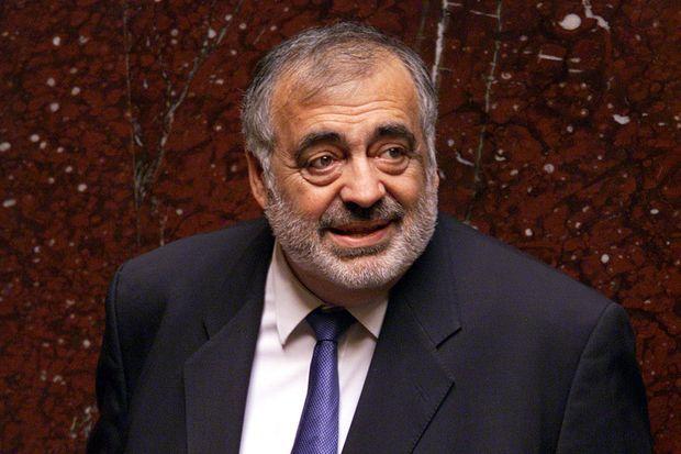Philippe Séguin en février 2002 à l'Assemblée nationale.