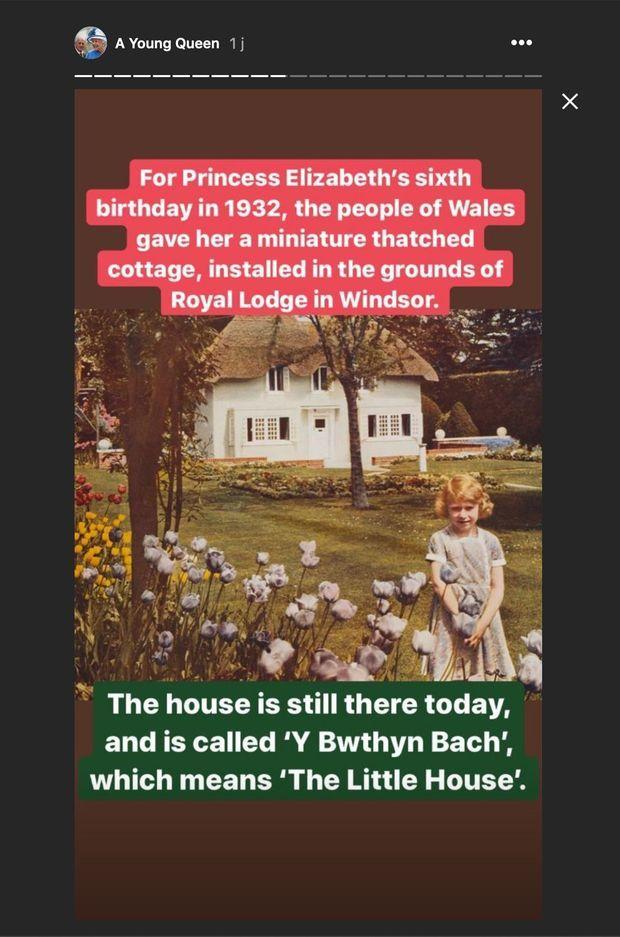 La reine Elizabeth II enfant
