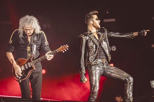 Queen et Adam Lambert