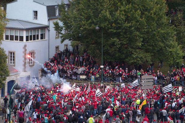 Un grand rassemblement s'est déroulé à Quimper, le 2 novembre.