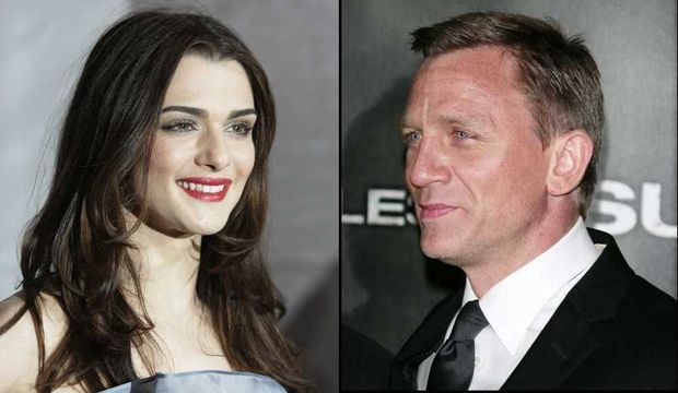 Rachel Weisz et Daniel Craig: montage-