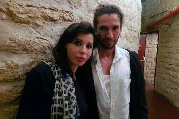 Rachida Khalil et Otman Salil, metteur en scène du spectacle.