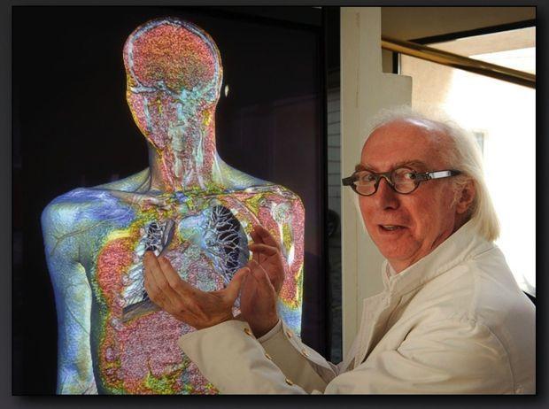 Grâce à l'imagerie sophistiquée qu'il a inventée, le radiologue Rodolphe Gombergh a pu sauver Kyris