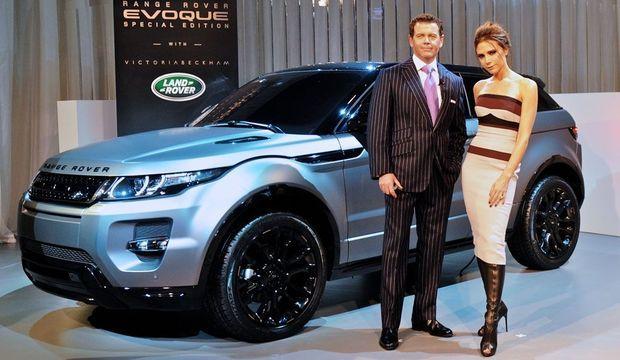 Ranger Rover Evoque Victoria Beckham Gerry McGovern-
