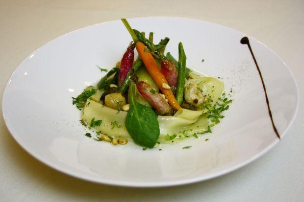 Raviole de Légumes Printaniers