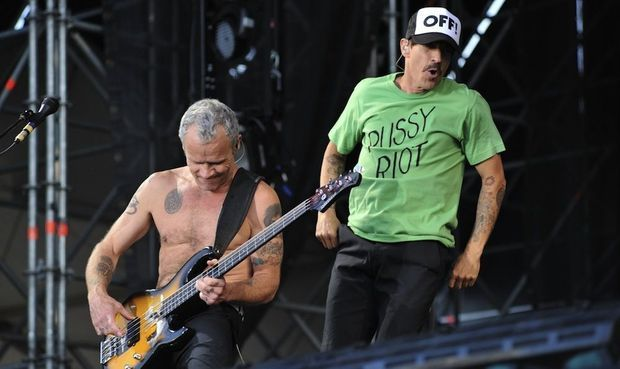 """Red Hot Chili Peppers t-shirt """"pussy riot"""""""