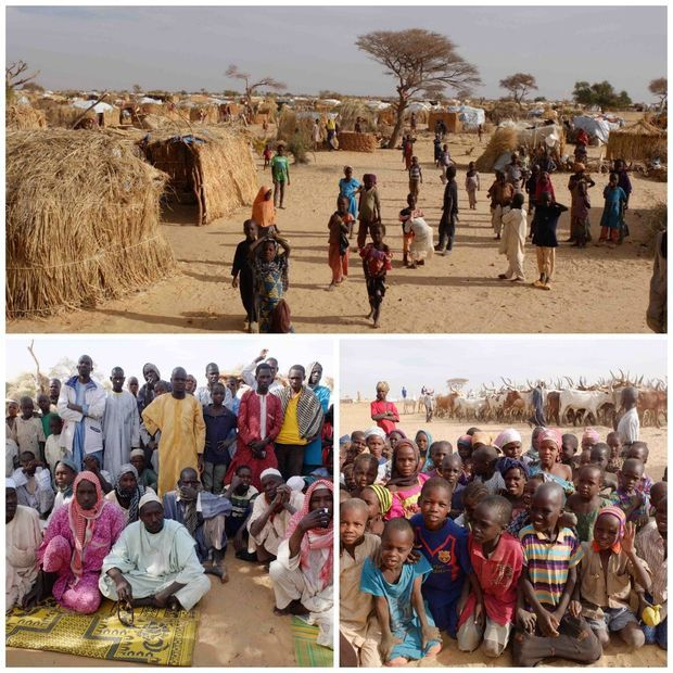 Several hundred thousand displaced Nigerians, victims of Boko Haram, live in the region of Diffa, in Niger. Assaga. 2016.