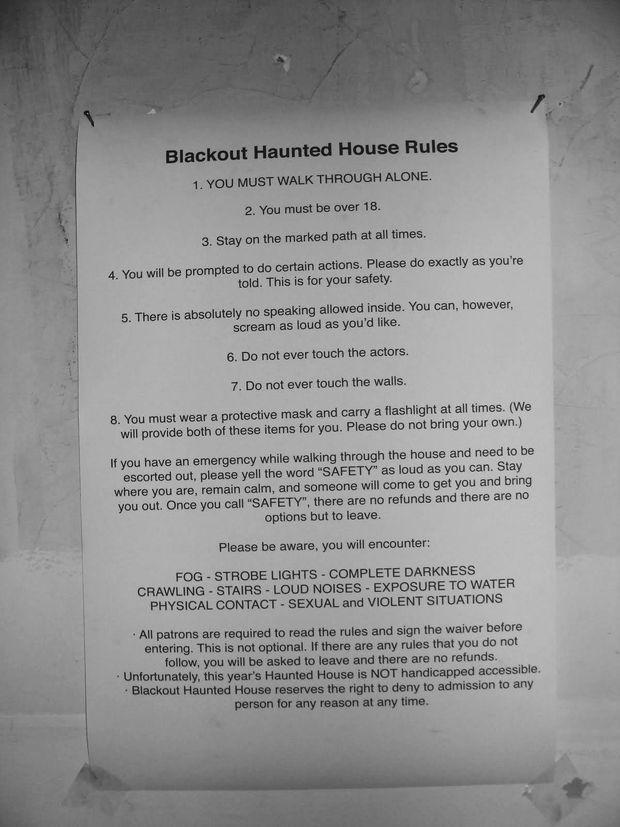 Regles Blackout-