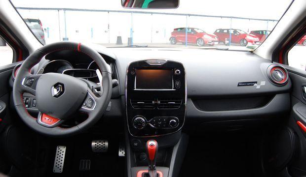 Renault Clio RS Intérieur-