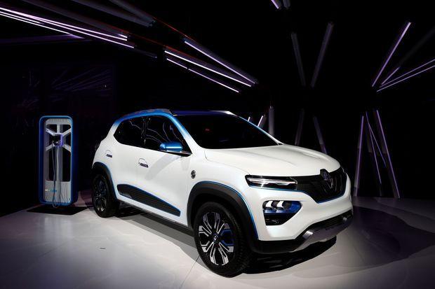 La Renault K-ZE, un SUV compact électrique destiné à la Chine.
