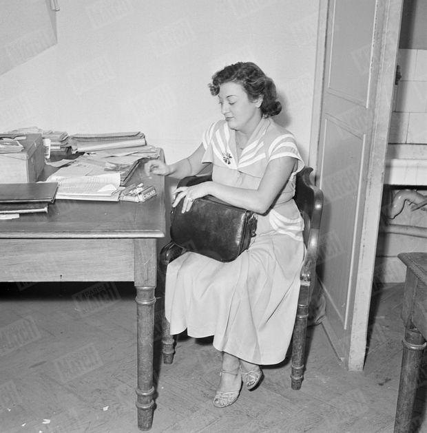 Marinette, l'épouse de René La Canne