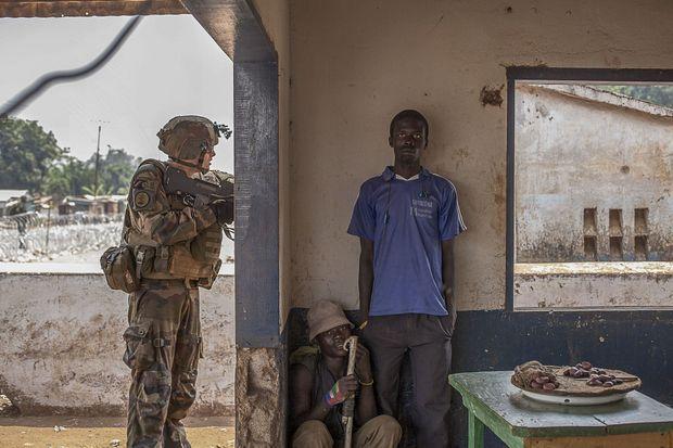 République Centreafricaine. 16 février 2014