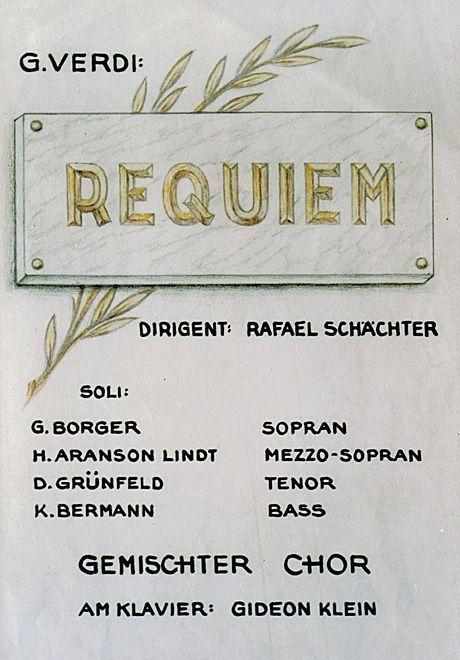 """Une image extraite de la représentation de """"Rekviem""""."""