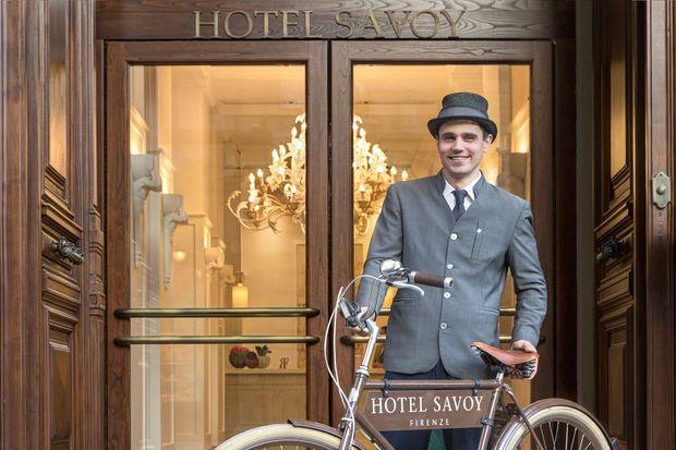 L'hôtel Savoy.