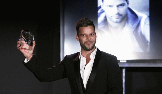 Ricky Martin reçoit résompense-