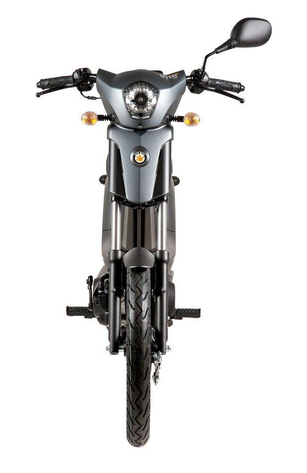 """La Rieju Bye Bike 50 est disponible en deux versions: """"Utilitaire"""" ou """"Premium""""."""