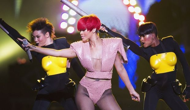 Rihanna Madison Square Garden-