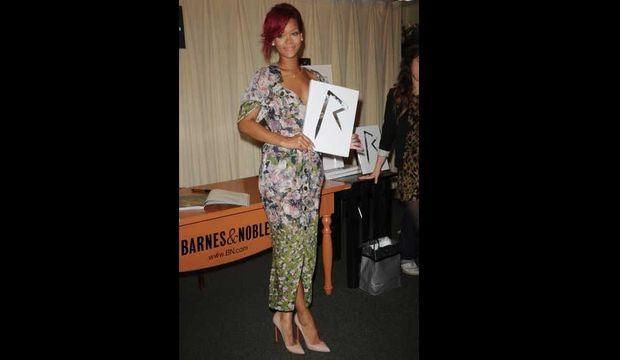 Rihanna présente son livre-