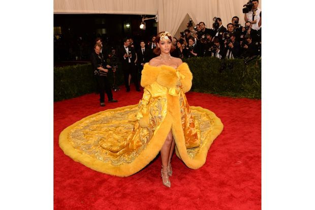 Rihanna au Gala du Met.