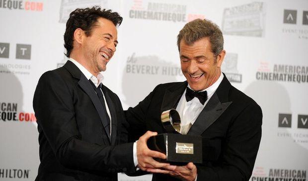 Robert Downey Jr. et Mel Gibson-