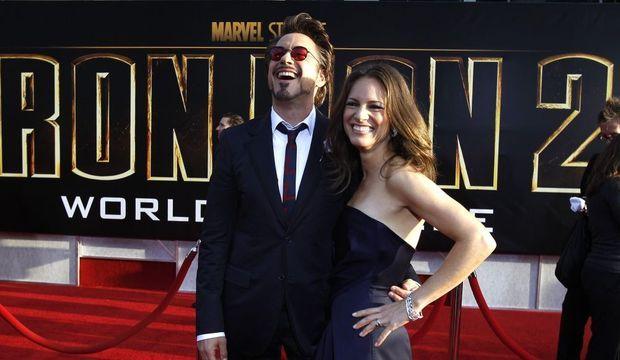 Robert Downey Jr. et sa femme-