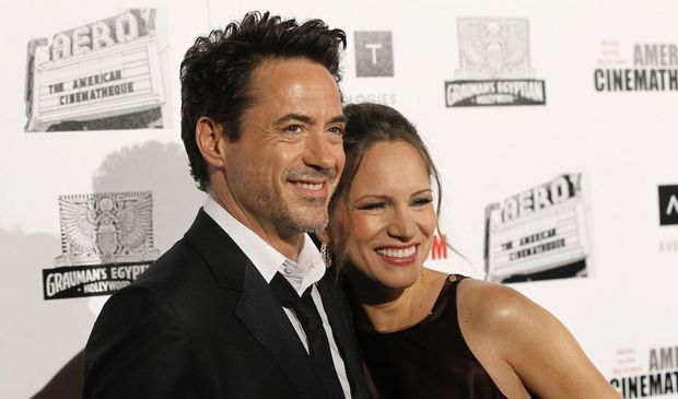 Robert Downey Jr. et Susan-