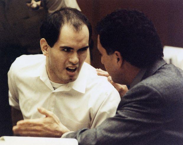 Robert John Bardo lors de son procès en 1991.