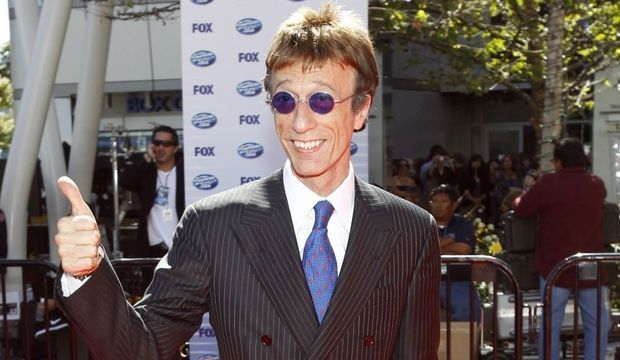 Robin Gibb of The Bee Gees-