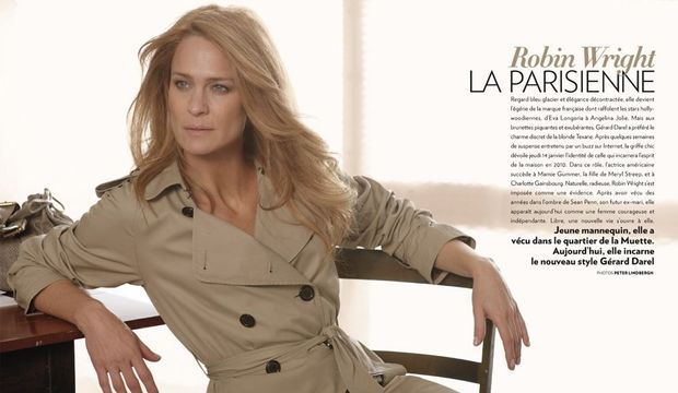 Robin Wright Version papier-