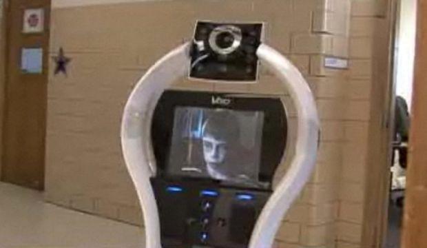 Robot avatar lycée-