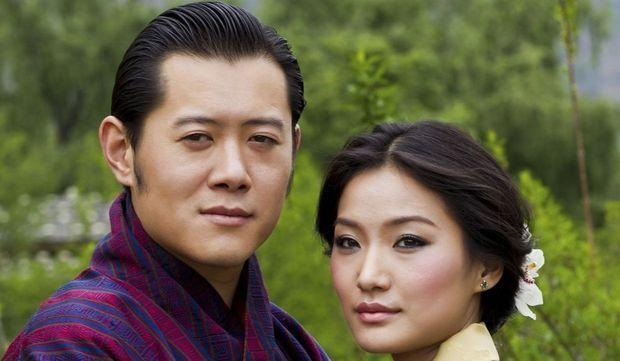 roi-dragon-bhoutan-fiancee-pema-