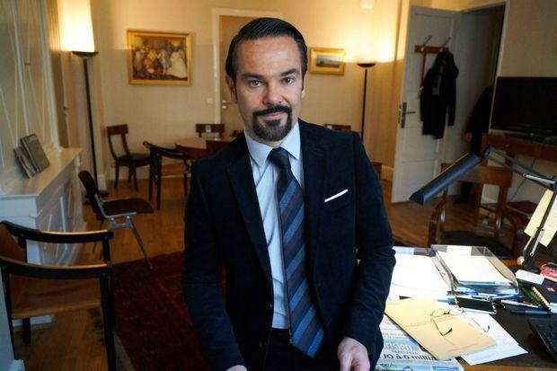 Romain Nadal, le porte-parole du Quai d'Orsay très actif sur Twitter.