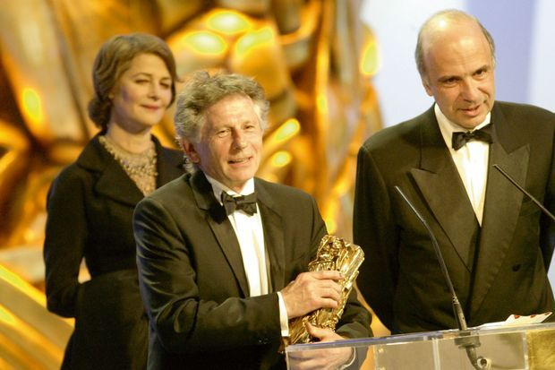 Roman Polanski reçoit le César du meilleur film pour