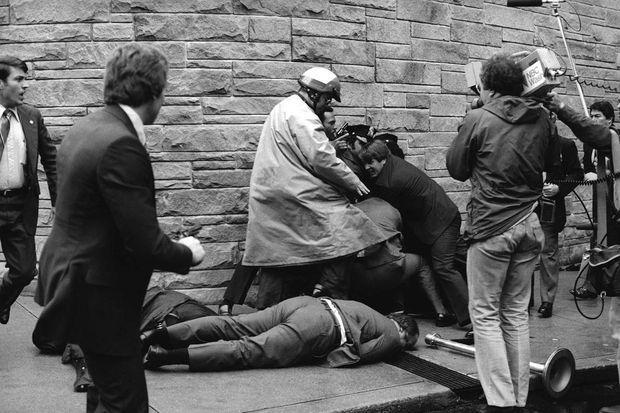 Le jour de la tentative d'assassinat de Ronald Reagan, le 30 mars 1981.