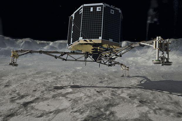Le robot Philae.