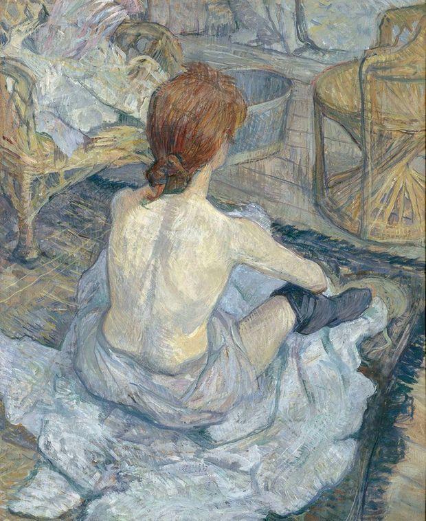 « Rousse (la toilette) », 1889.