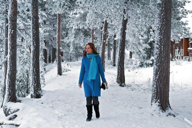 Reine des neiges. Dans la forêt d'Inari, berceau du peuple sami, le 17 novembre.