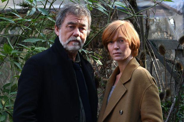 Olivier Marchal et Erika Sainte.