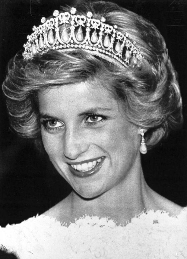 La princesse Diana à Washington, le 10 novembre 1985