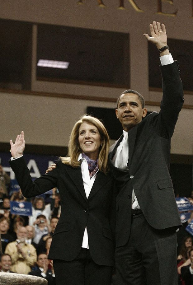 Dès 2008, Caroline Kennedy a apporté son soutien à Barack Obama.