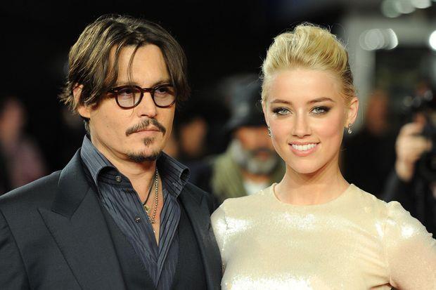 Johnny Depp et Amber Heard en novembre 2011. L'année suivante, ils officialisaient leur couple.
