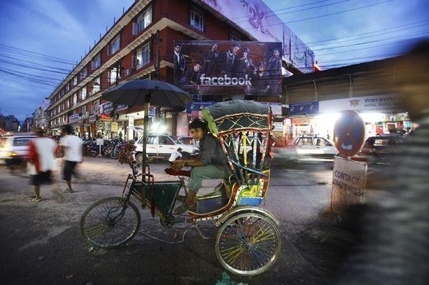 Katmandou, Népal.