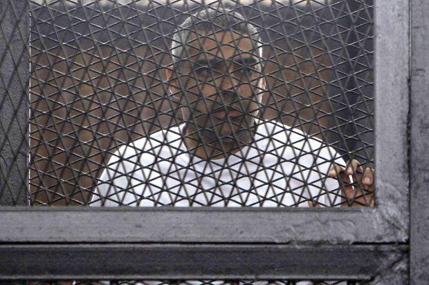 Mohamed Fahmy lors de son procès en mars.