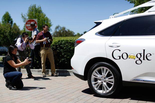 La Google Car.