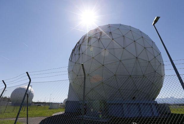 Un complexe de surveillance désaffecté de la NSA en Allemagne.