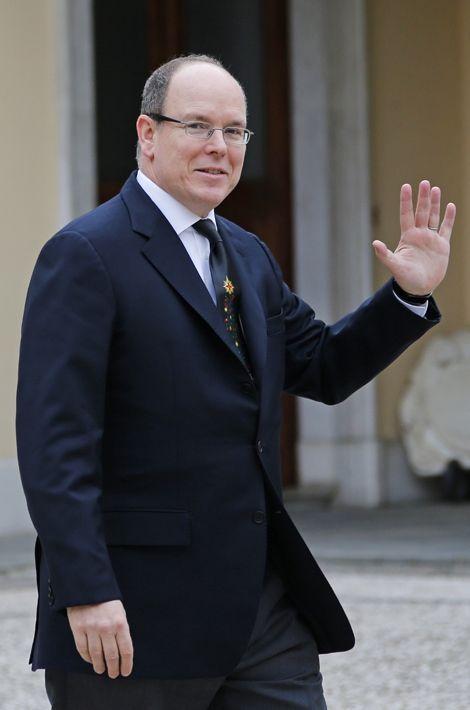 Albert II de Monaco le 17 décembre 2014