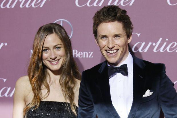 Eddie Redmayne et son épouse, Hannah Bagshawe. Le couple s'est marié le 15 décembre dernier