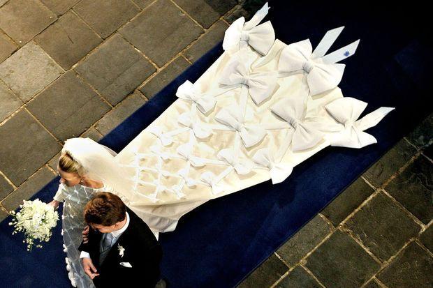 Le mariage de Mabel Wisse Smit et du prince Friso des Pays-Bas, à Delft le 24 avril 2004