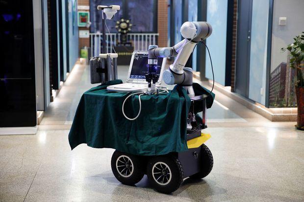 Le robot infirmier.