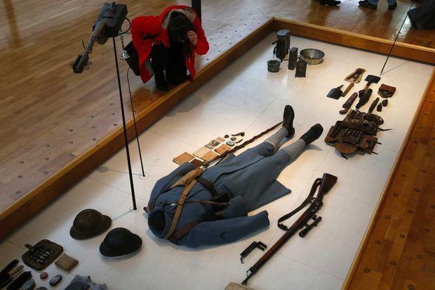 Un uniforme de Poilu, Historial de la Grande Guerre de Péronne.